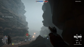 Battlefield™ 1 Open Beta: You want to go through the canyon.