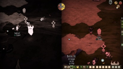 Don't Starve Together: I died so that he may live.