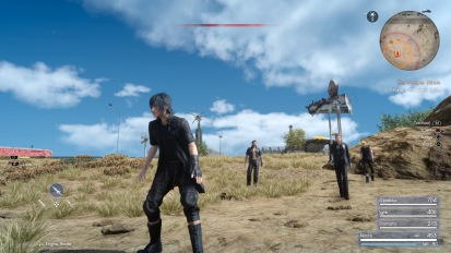 FINAL FANTASY XV: Tremors