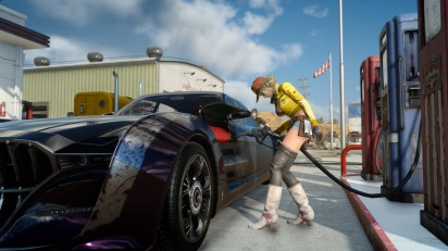 FINAL FANTASY XV: The Fast and the Furious