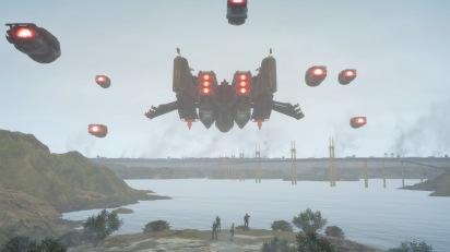 FINAL FANTASY XV: Starship Troopers